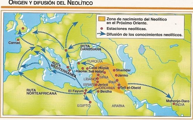 mapa-de-difusic3b3n-del-neolc3adtico-desde-prc3b3ximo-oriente